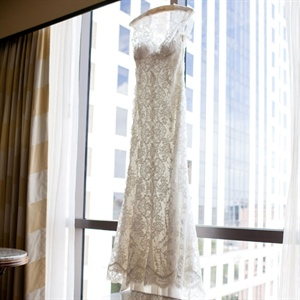 Lacy White Gown