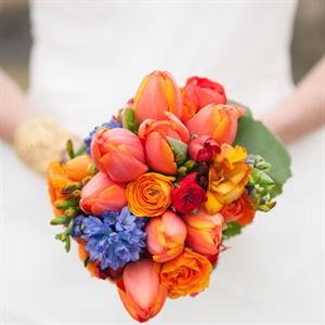 Vibrant Orange Bouquet