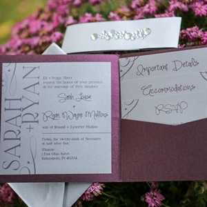 Modern Portfolio Invitation Suite