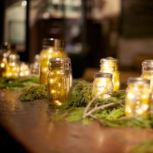 Firefly-Inspired Mason Jar Decor