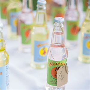 Retro Bottled Soda Escort Cards