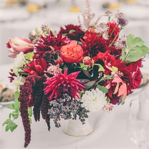 Textured Autumnal Centerpieces