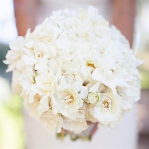 Ivory Gardenia Bridal Bouquet