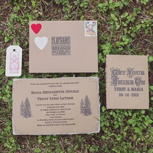 DIY Old West Invitations