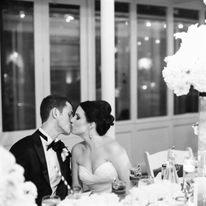 A Reception Kiss