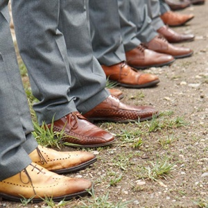 Brown Groomsmen Shoes