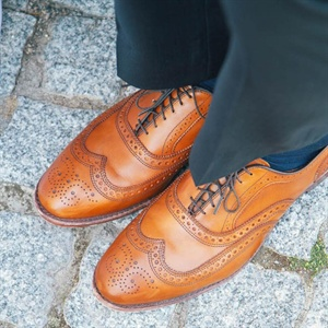 Brown Groom's Shoes