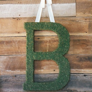 Moss-Covered Monogram