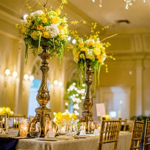Tall Floral Centerpieces