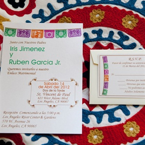 Mexican-Themed Invitations