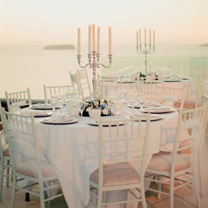 Formal Outdoor Reception Table