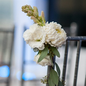 Floral Ceremony Chair Decor