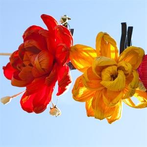 Handmade Floral Reception Decor