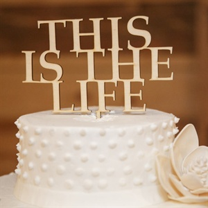 Statement Cake Topper