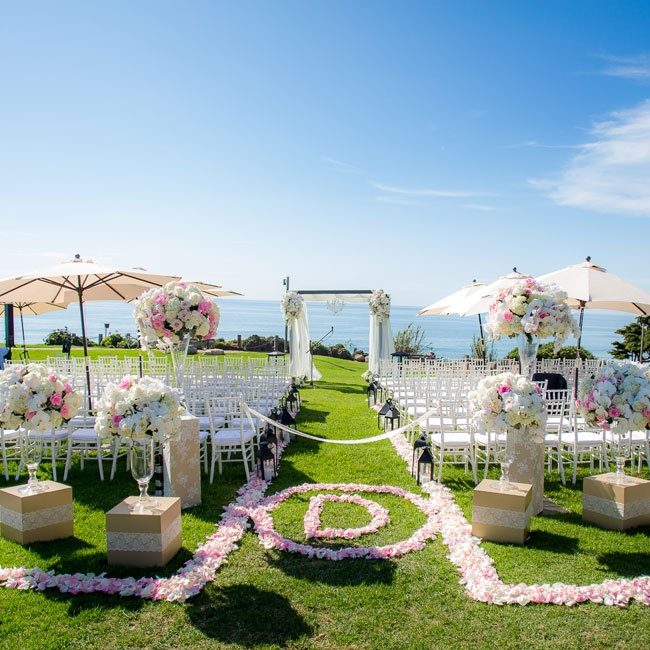 Ceremony Magazine L Auberge Seaside Wedding: Kendall And Justin Wanted Their Ceremony To Complement The