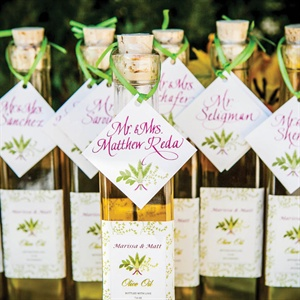Olive Oil Escort Cards