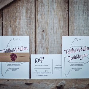 Maine Inspired Invitations