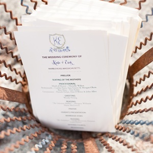 Nautical Ceremony Programs