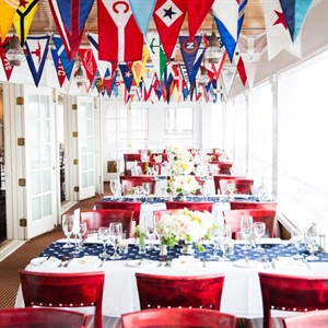Nautical Reception at the Boston Yacht Club