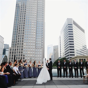 Rooftop Ceremony in Charlotte, NC