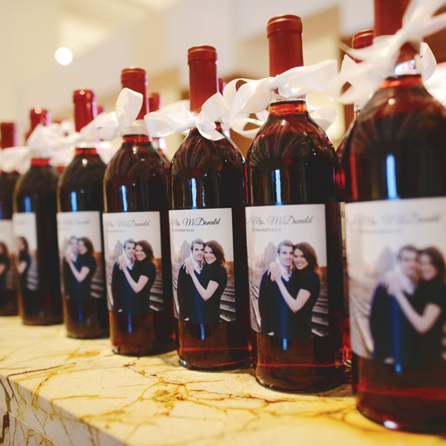 Personalized Wine Favors