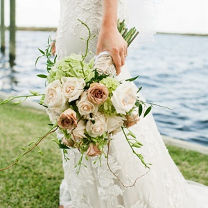 Rose and Hydrangea Bridal Bouquet