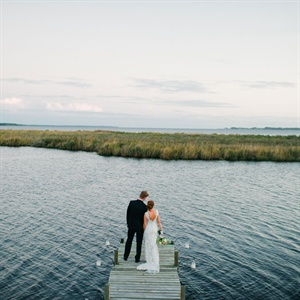 At-Home Wedding in Belhaven, North Carolina