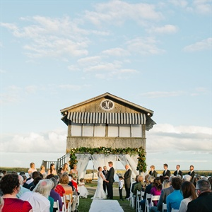 Beautiful Backyard Ceremony