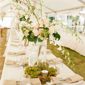 Natural Reception Decor