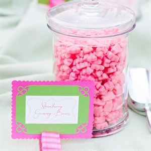 Pink Gummy Bear Bar