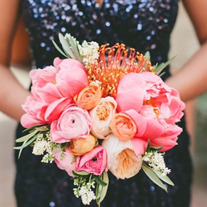 Protea, Rose and Tulip Bouquet