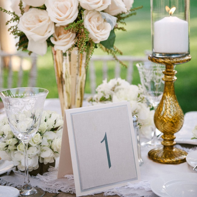 The tables were marked with simple square table numbers in a soft gray.