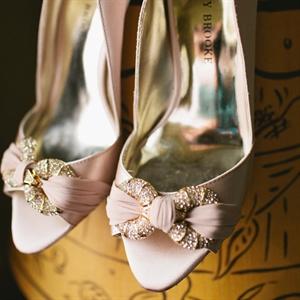 Vintage-Inspired Bridal Shoes