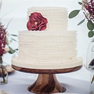 Ruffled Buttercream Cake