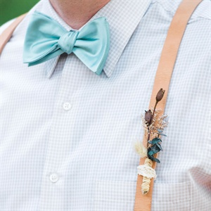 DIY Dried Flower Boutonniere