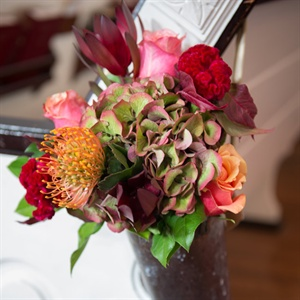 Colorful Reception Flowers