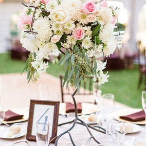 Centerpiece and Table Number