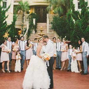 Neutral Wedding Party Attire