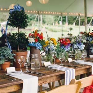 Rustic Centerpiece Decor