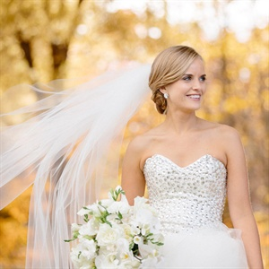Embellished Bodice Wedding Gown