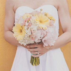 Yellow Daisy Bridal Bouquet