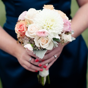 Pastel Bridesmaid Bouquets