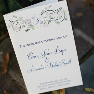 Romantic Ceremony Program