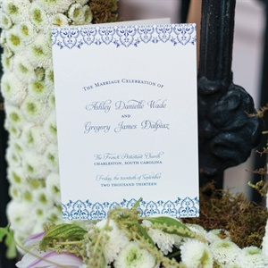 Dainty Wedding Programs