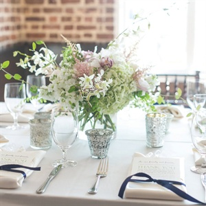 Light Green Centerpieces
