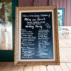 DIY Chalkboard Program