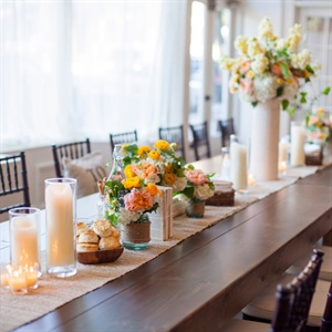 Rustic, Southern Tablescape