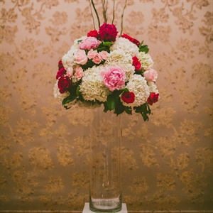 High Red and Pink Centerpieces