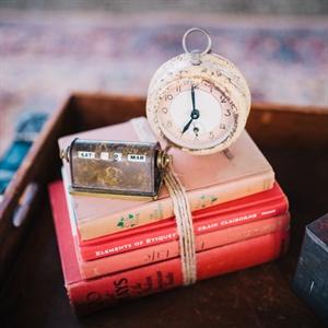 Vintage Alarm Clock Decorations