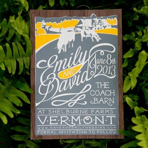 Rustic Save-the-Dates